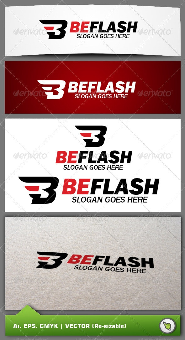 Beflash Logo Template - Letters Logo Templates