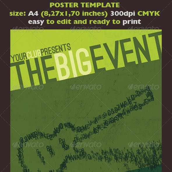 The Big Event Poster/Flyer Template