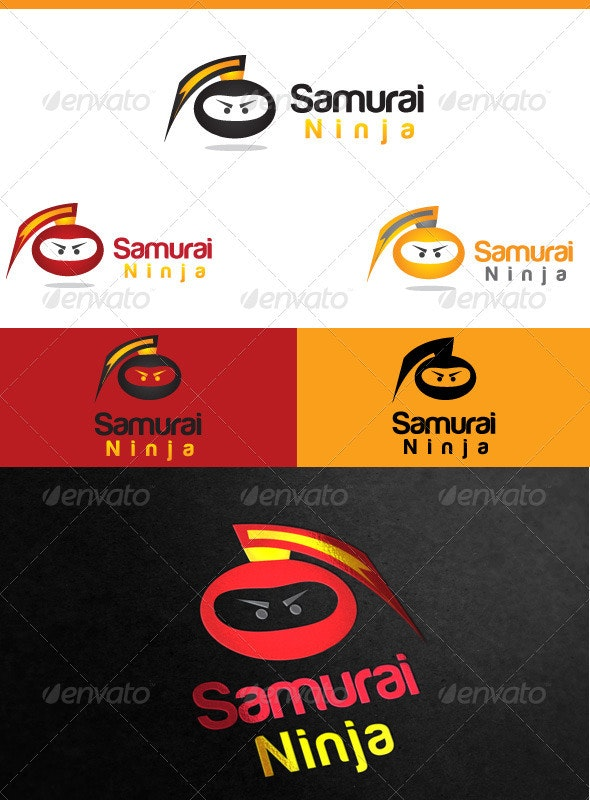 Samurai Ninja - Humans Logo Templates