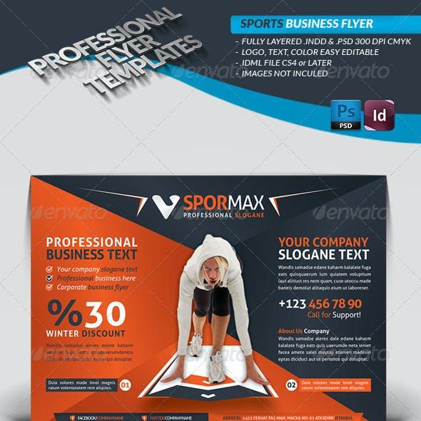 Sport Template Business Flyer