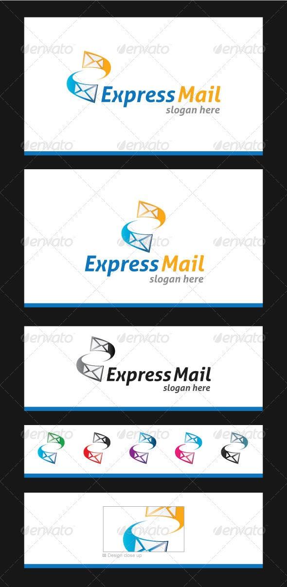 Express Mail Logo Template - Symbols Logo Templates