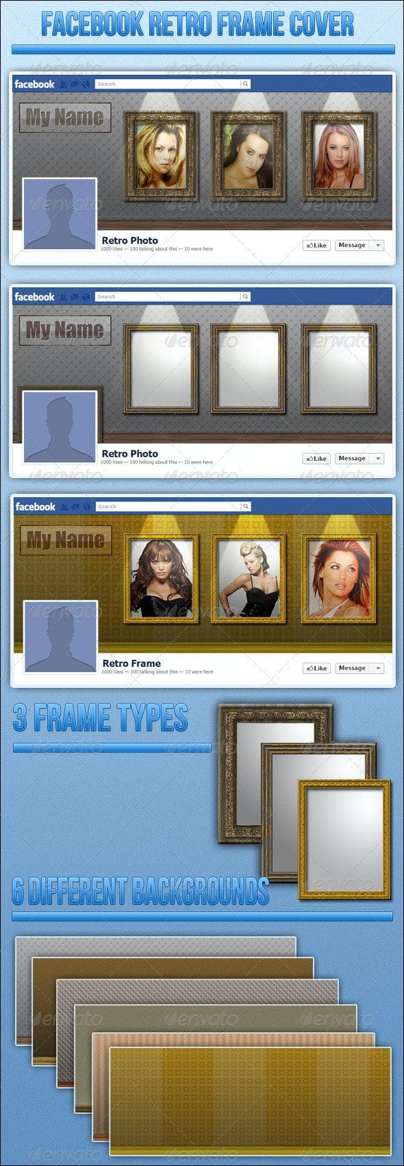 Retro Frames Fb Cover - Facebook Timeline Covers Social Media
