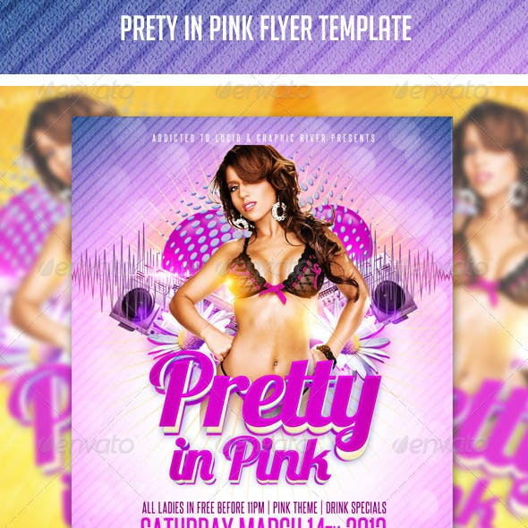 Pretty Pink Flyer Template