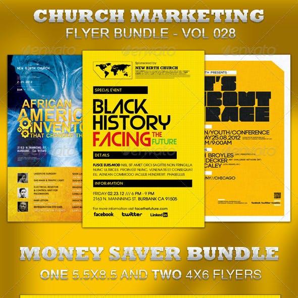 Church Marketing Flyer Bundle Vol 028
