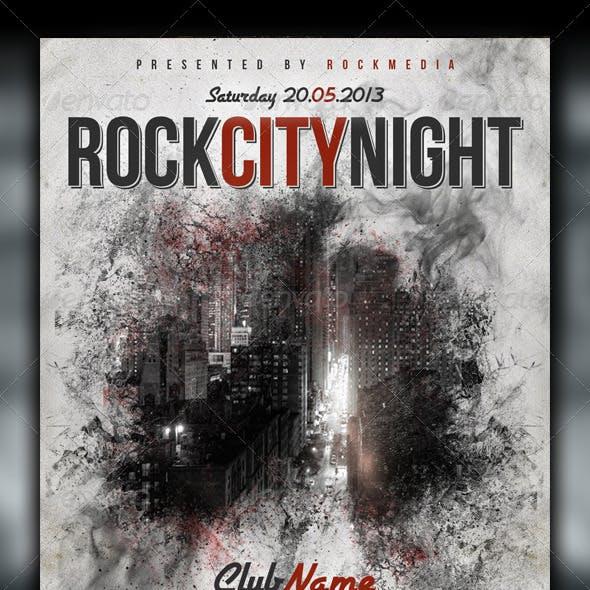 Rock Concert / Party Flyer / Poster