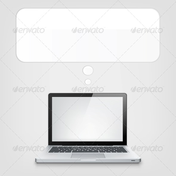 Laptop Concept - Computers Technology