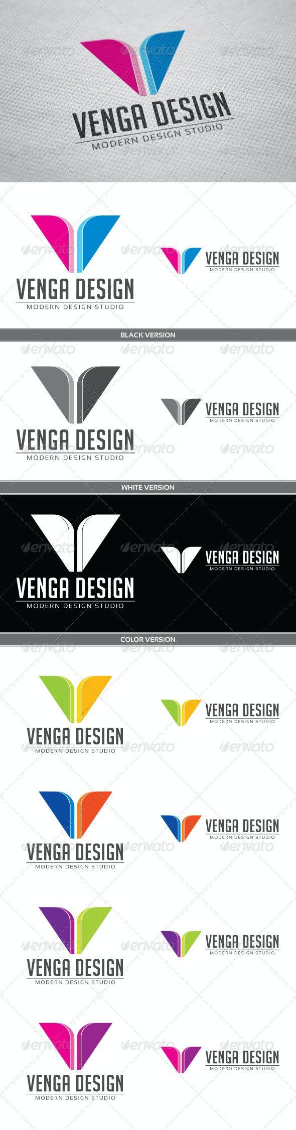 Venga - Letters Logo Templates