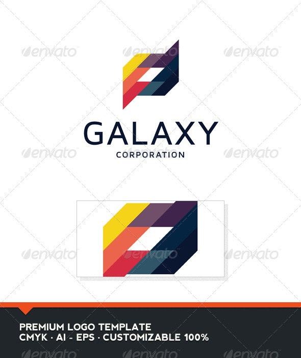 Galaxy - Abstract Logo Template - Abstract Logo Templates