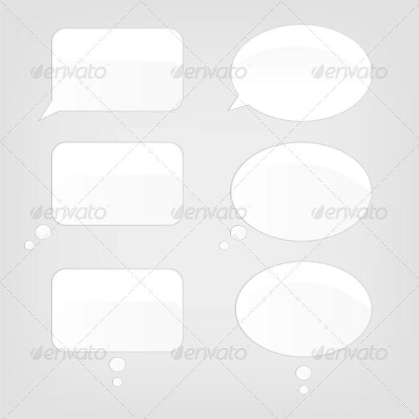 Speech Bubbles - Computers Technology