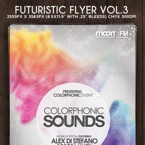 Futuristic Flyer Vol 3