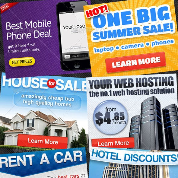 6 Web Banner Ads Bundle 1.0