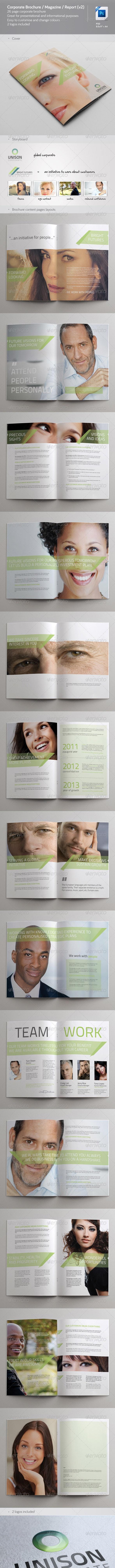 Corporate Brochure / Magazine / Report (v2) - Corporate Brochures