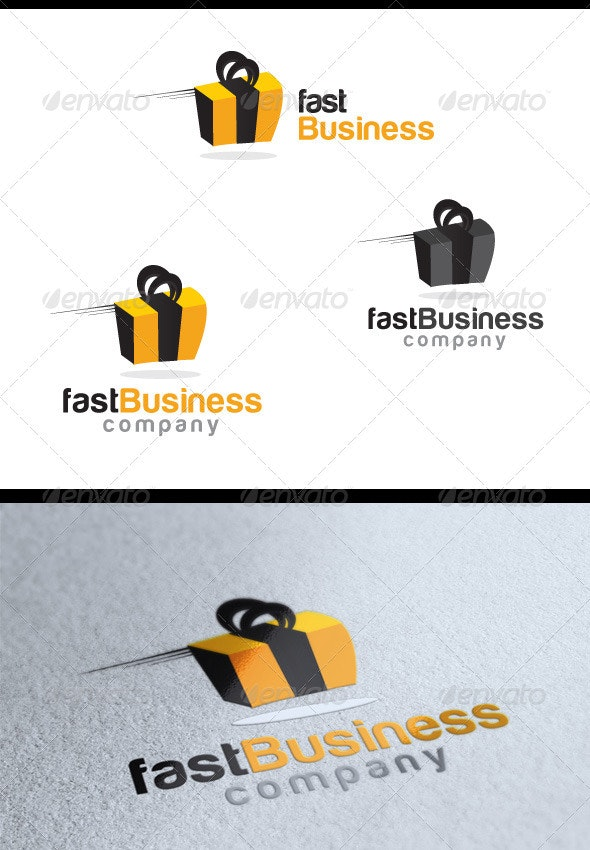 Fast Business - Objects Logo Templates