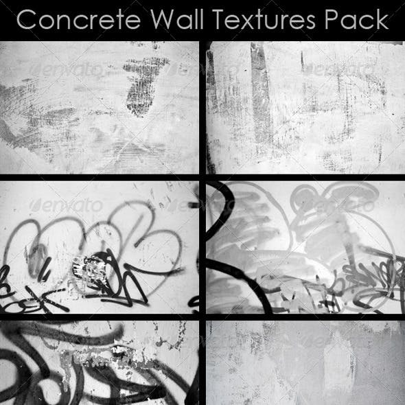 Concrete Wall Textures Pack