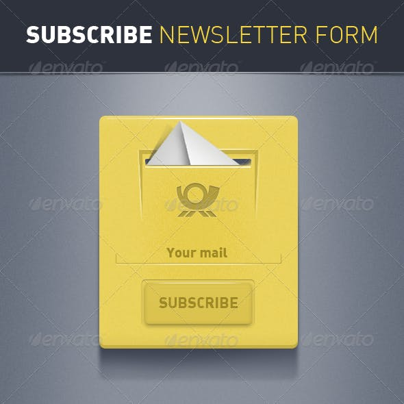 Subscribe Newsletter Forms