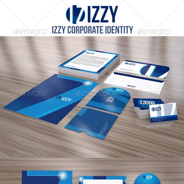 IZZY Corporate Identity Package