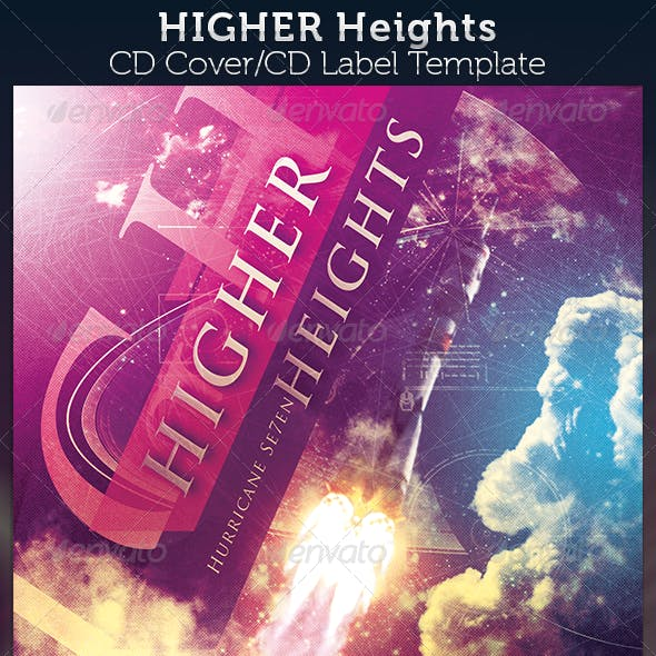 Higher Heights CD Cover Template