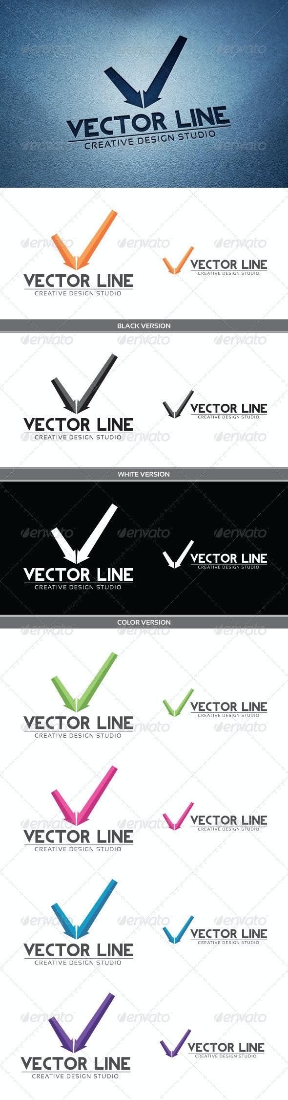 Vector Line - Letters Logo Templates