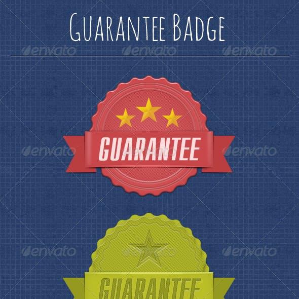 Guarantee Badges