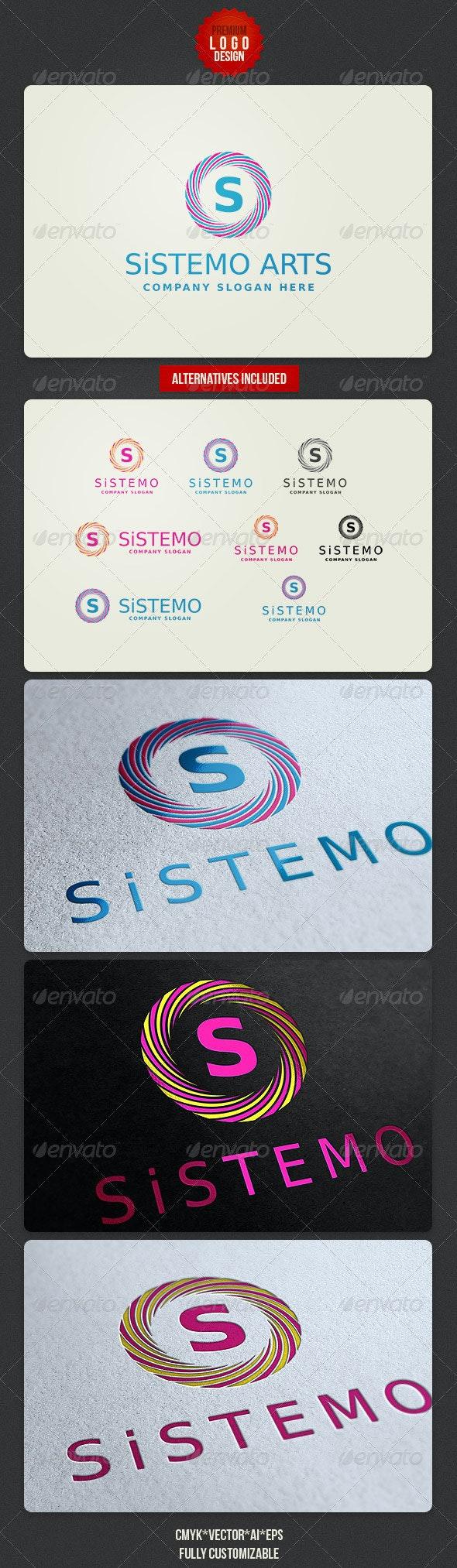 Creative Minimalistic Logo - Letters Logo Templates