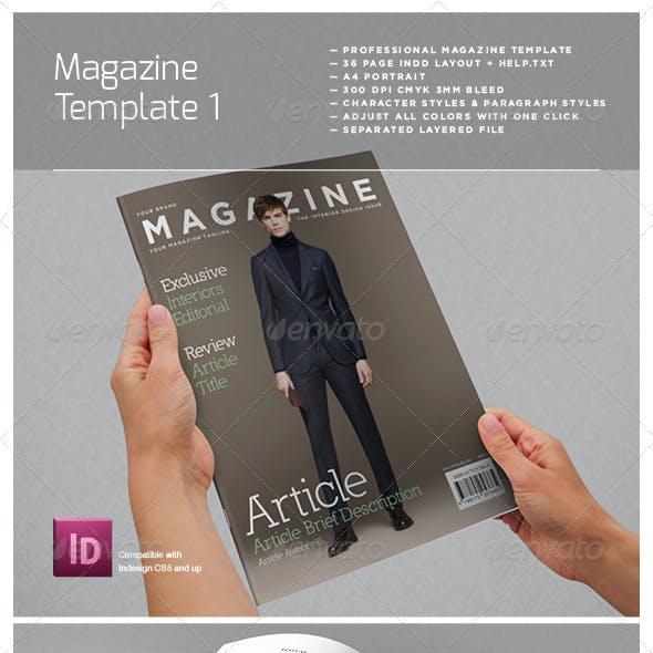 Magazine Complete Template