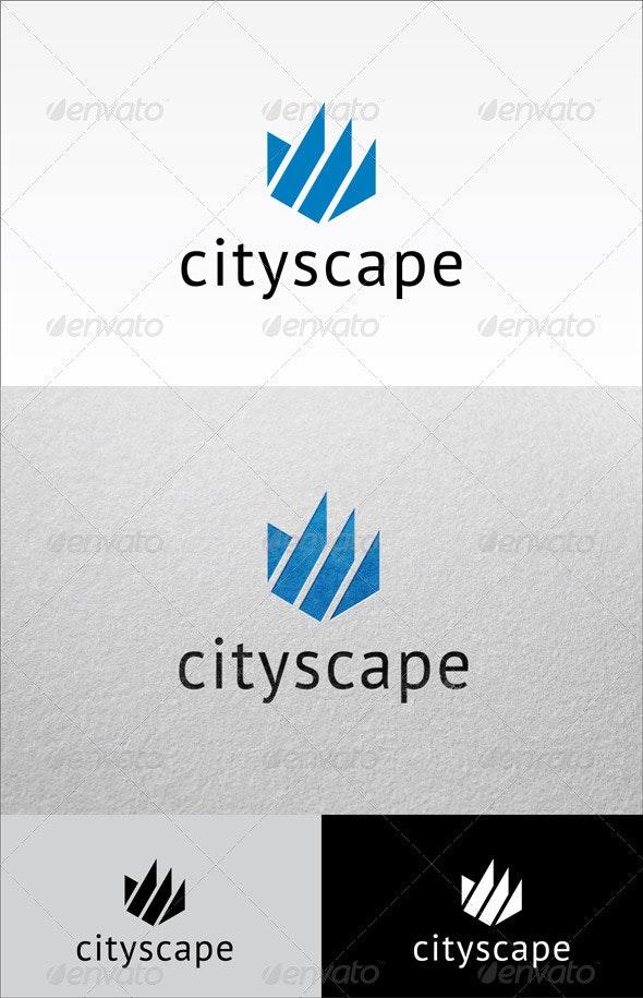 Cityscape - Abstract Logo Templates