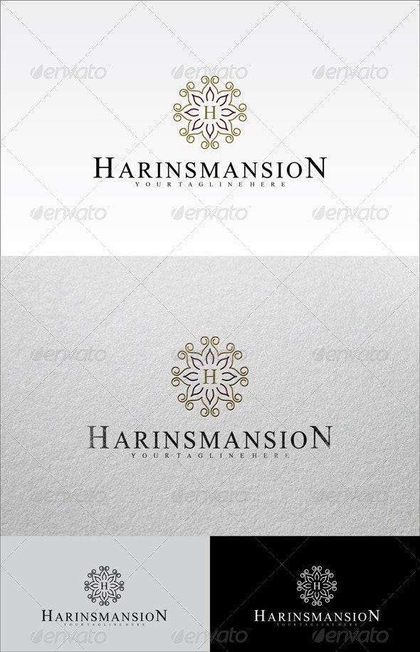 Harins Mansion - Abstract Logo Templates