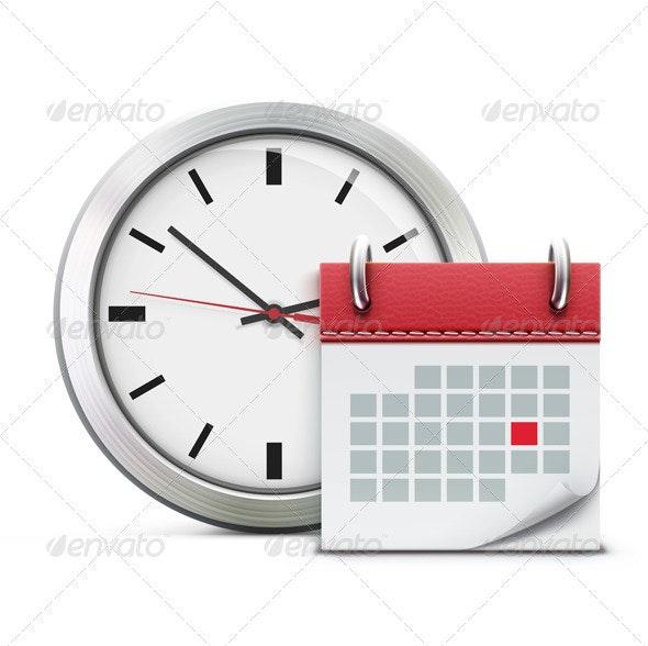 Timing concept - Business Conceptual