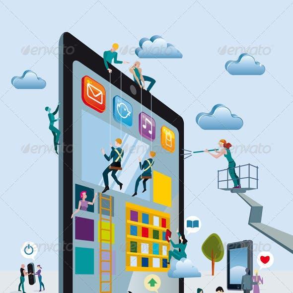 Building Digital Tablets Vertical