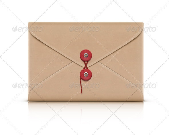 manila envelope - Objects Vectors