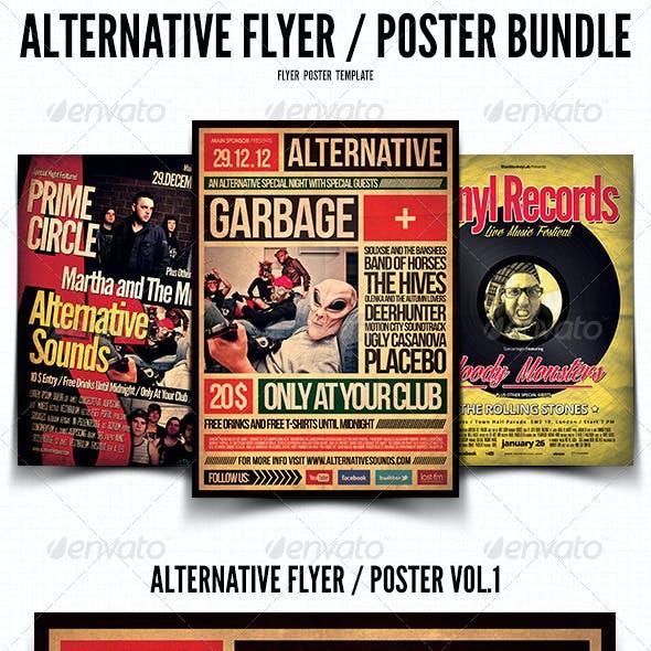 Alternative Flyer / Poster Bundle