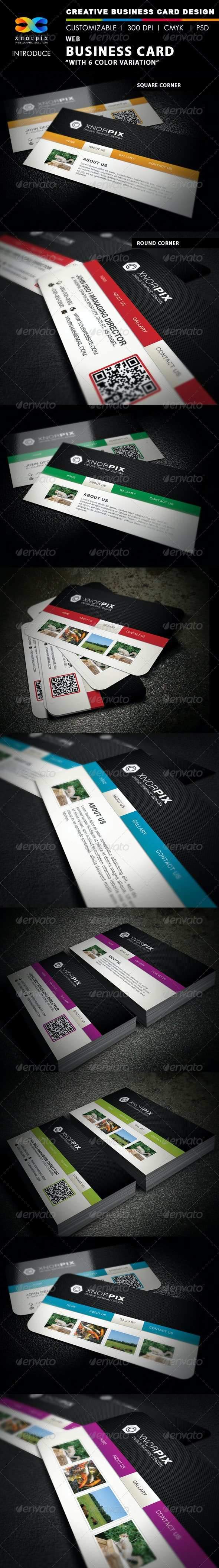 Web Business Card - Industry Specific Business Cards