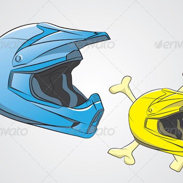 Helmets Motocross