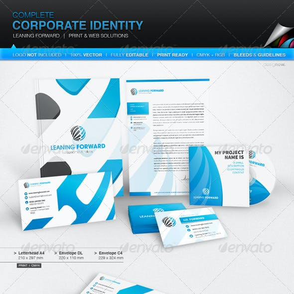 Corporate Identity - Leaning Forward