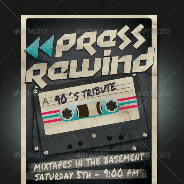 Cassette Tribute Flyer/Poster