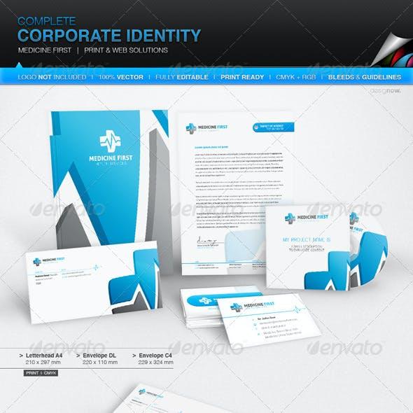 Corporate Identity - Medicine First