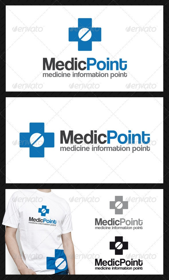 Medic Point Logo Template - Objects Logo Templates