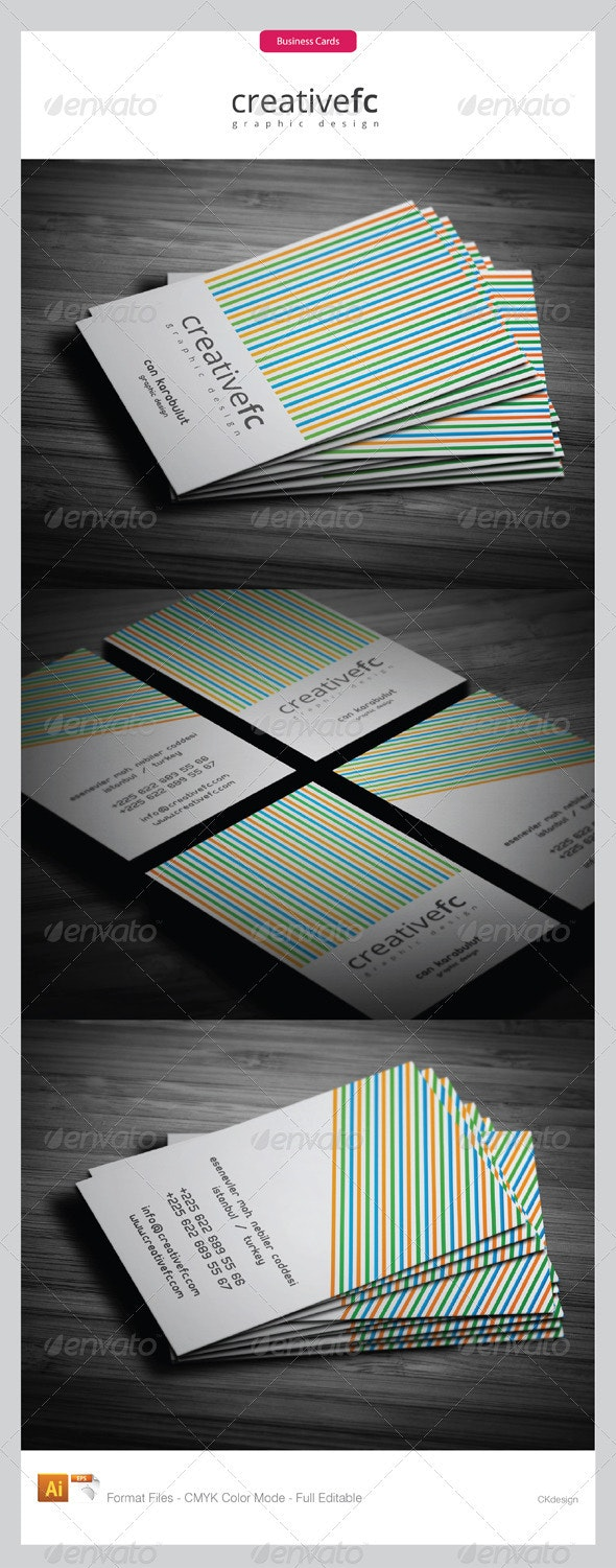 corporate business cards 279 - Creative Business Cards