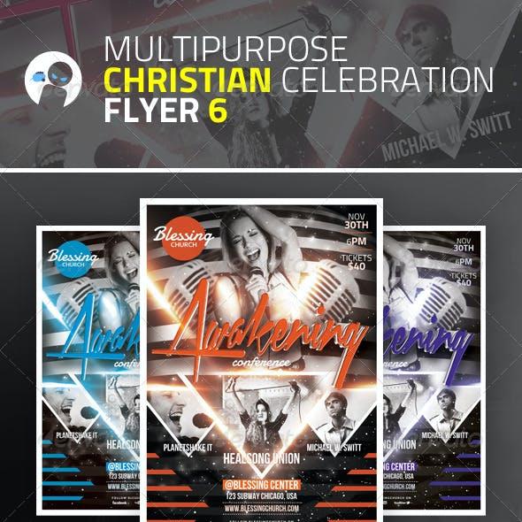 Multipurpose Christian Celebration Flyer 6