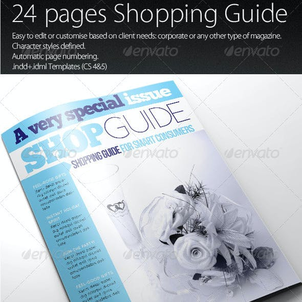 Shopping Guide Template