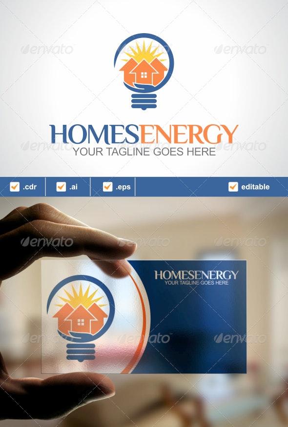Homes Energy Logo - Buildings Logo Templates