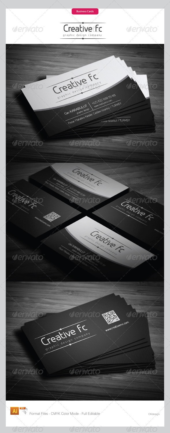 corporate business cards 287 - Business Cards Print Templates