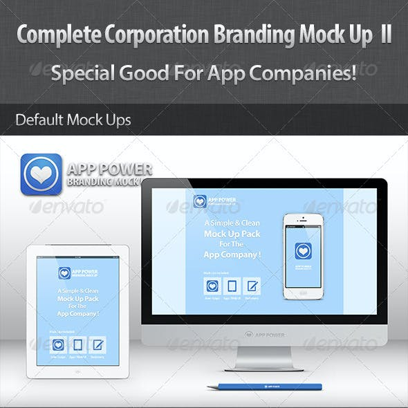 Complete Corporation Branding Mock Up II