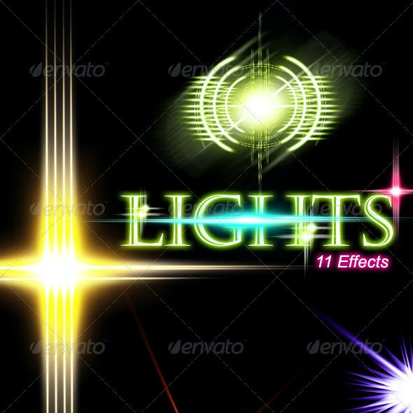 Unique Lights with 11 Effects: Vol.3
