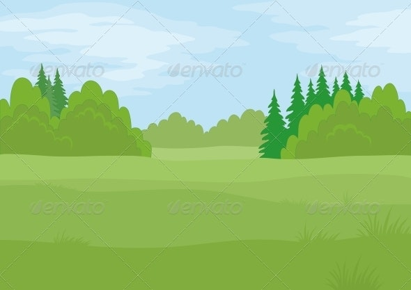 Landscape, Summer Forest - Landscapes Nature