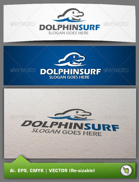 Logo Dolphinsurf Templates - Animals Logo Templates