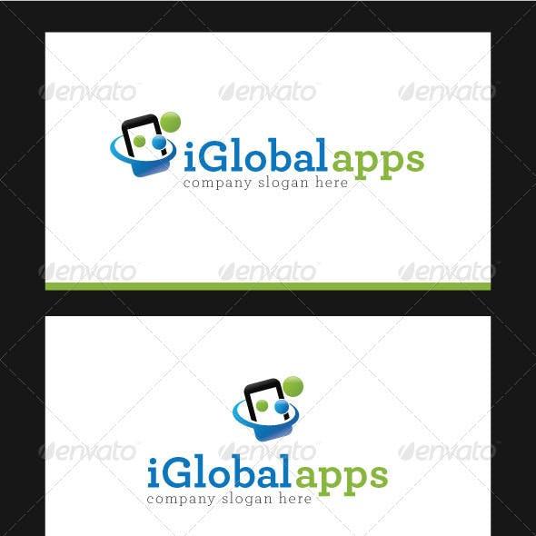 iGlobal Apps Logo Template