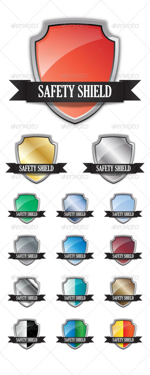 Safety shield - Man-made Objects Objects