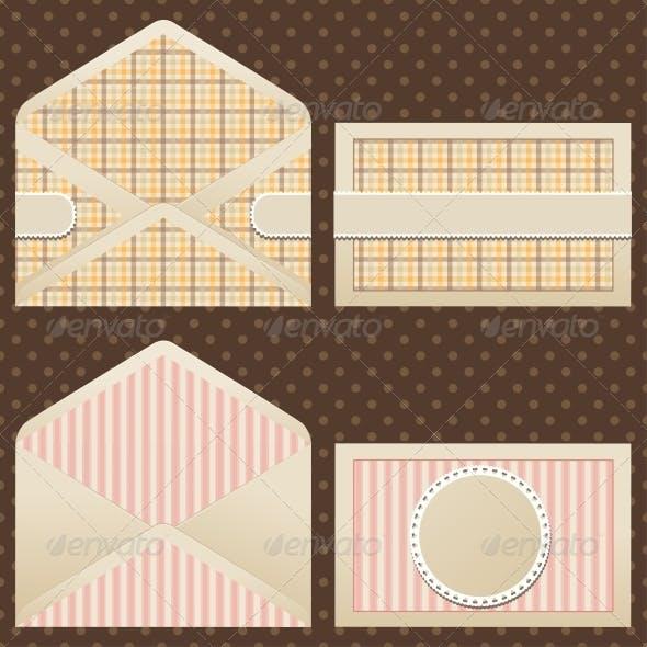 Collection of Old Vintage Envelopes.