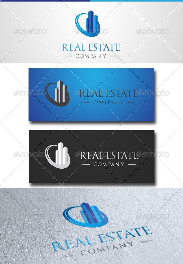 Real Estate - Buildings Logo Templates